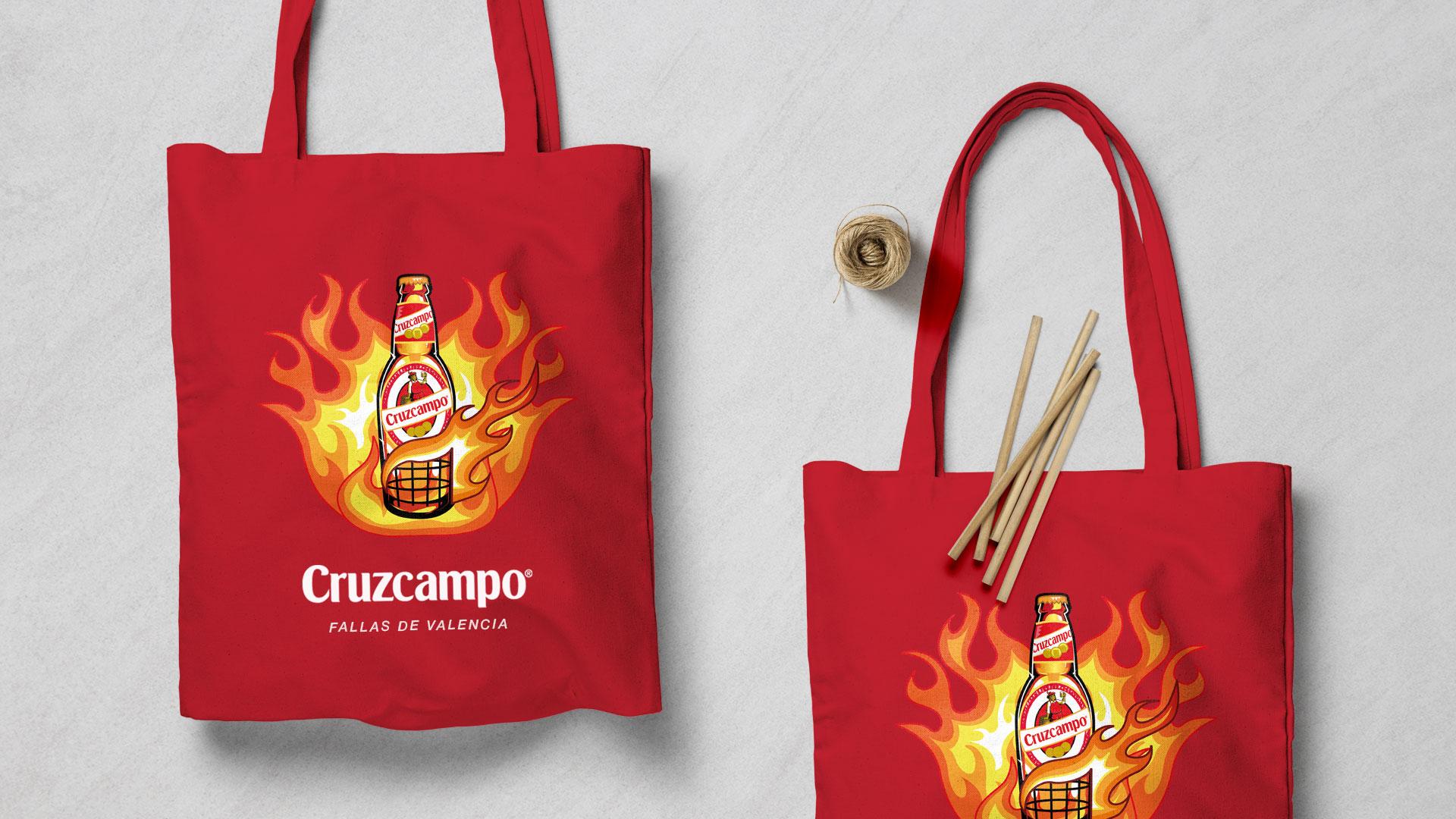 2c_advertising_design_graphic_cruzcampo_fallas